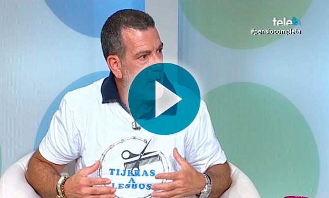 Nuria Roca nos entrevista en TV Badalona