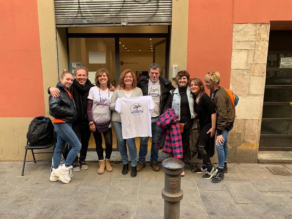 Tijeras Solidarias en Barcelona