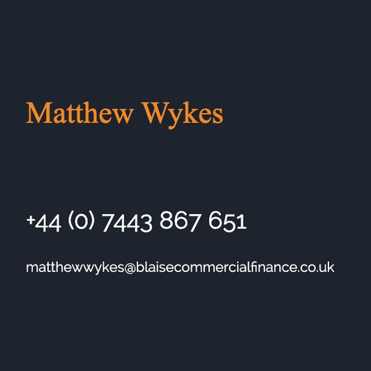 Matthew Wykes