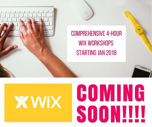 Wix Workshops Ad