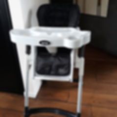 Bertini high chair in luxury accommodation Millbrook Queenstown NZ