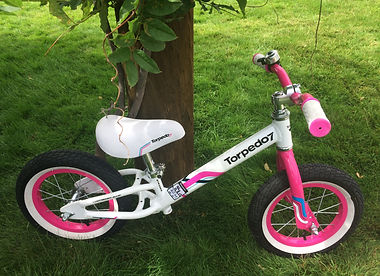 Childrens balance bike for holiday hire in Queenstown New Zealand