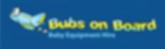 Bubs On Board Tasmania Australia logo