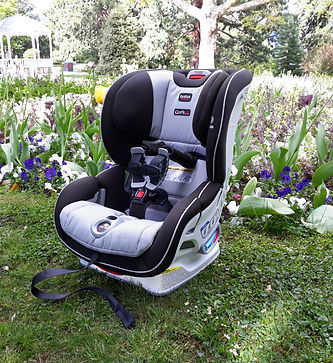 Britax Boulevard Cicktight car seat grey in the Queenstown Gardens New Zealand