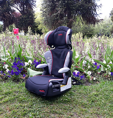 Evenflo Amp big kids booster car seat in the Queenstown Gardens New Zealand