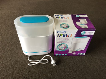 Philips Avent baby bottle electric steriliser