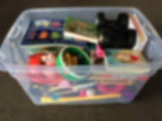 Toys, games, art supplies and books for children on holiday in Queenstown NZ