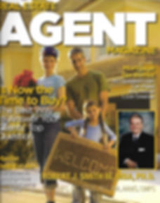 Real Estate Agent Magazine Cover with Robert J. Smith