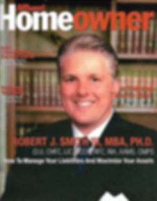 Affluent Homeowner Magazine Cover with Robert J. Smith