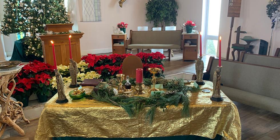 Sunday Celebration Service ONLINE: Honoring the Winter Solstice