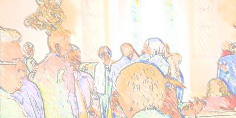 First Quarterly Congregational Meeting 2021 VIA ZOOM
