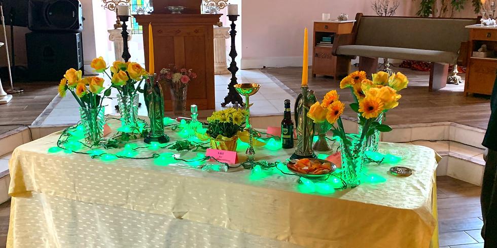 "'Socially Distanced, Spiritually Connected"" Sunday Service & Summer Solstice Celebration"