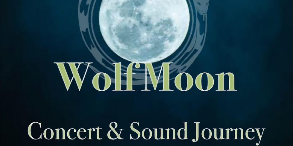 Woven Green Presents: Wolf Moon Concert & Sound Journey