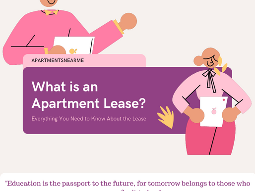 What Is An Apartment Lease?