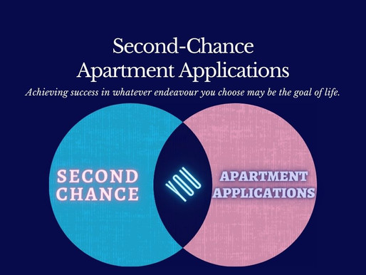 Second Chance Apartment Applications