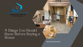 9 Things You Should Know Before Buying a House