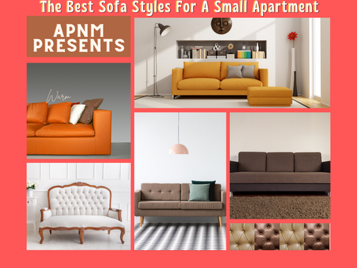 The Best Sofa Styles For a Small Apartment!