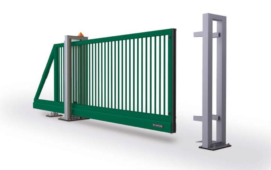 ворота откатные от 25000 рублей
