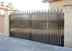 ворота распашные от 12000 рублей