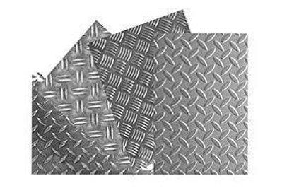 Лист горячекатаный - рифленый  4мм  (1500х1000мм)