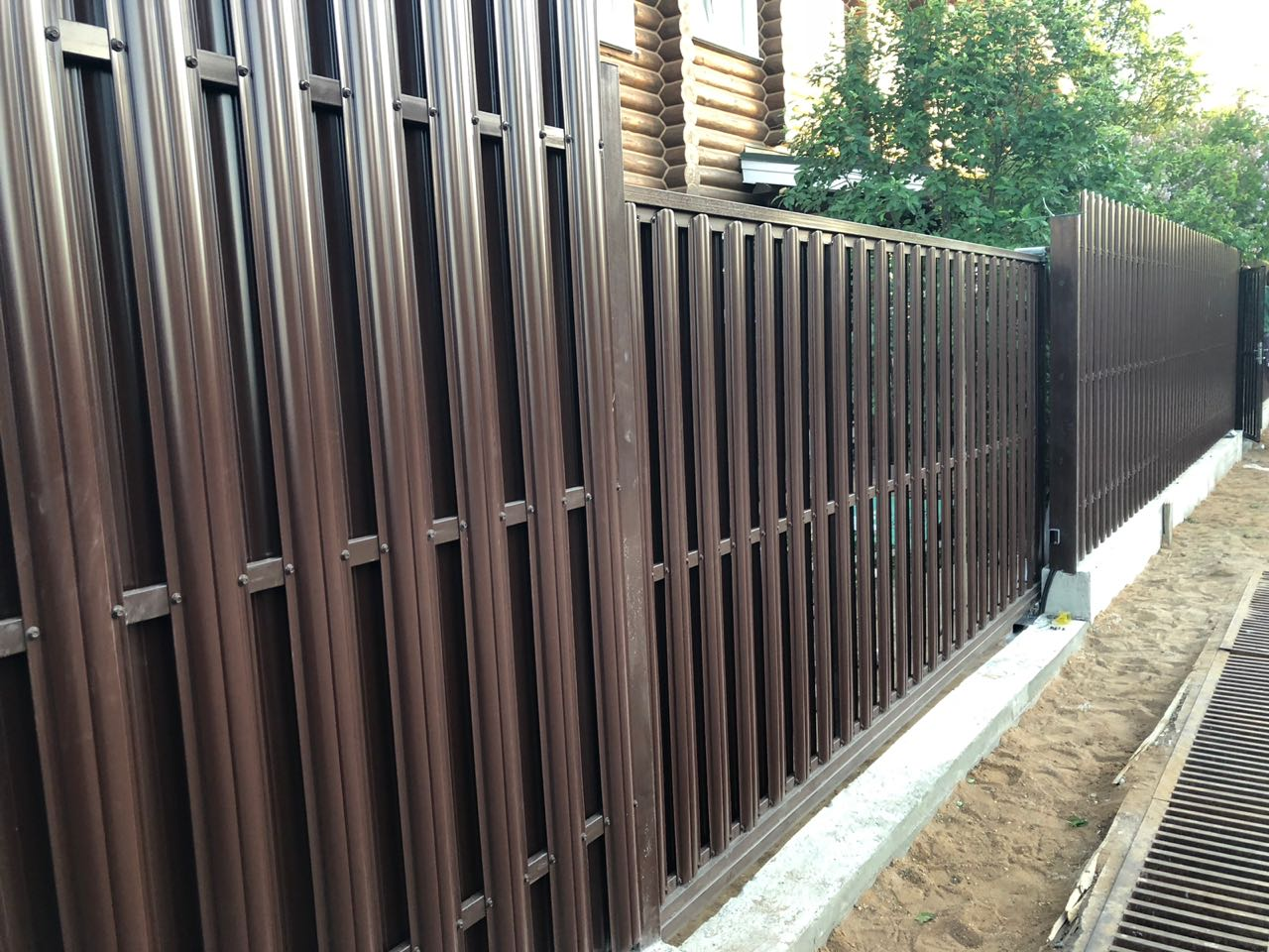 забор штакетник от 100 рублей