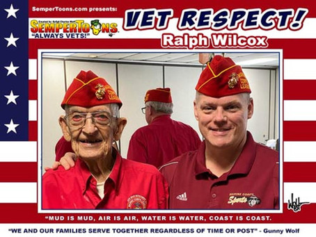 Vet Respect salutes Ralph Wilcox