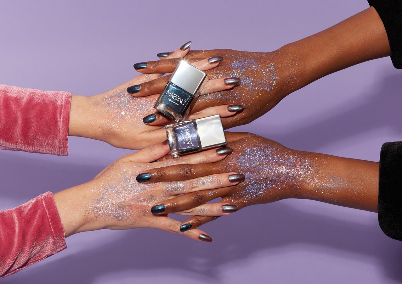 Nails INC A/W '18 Marketing Creative 'Dirty Unicorn' (Austeja Sciavinskaite photography)
