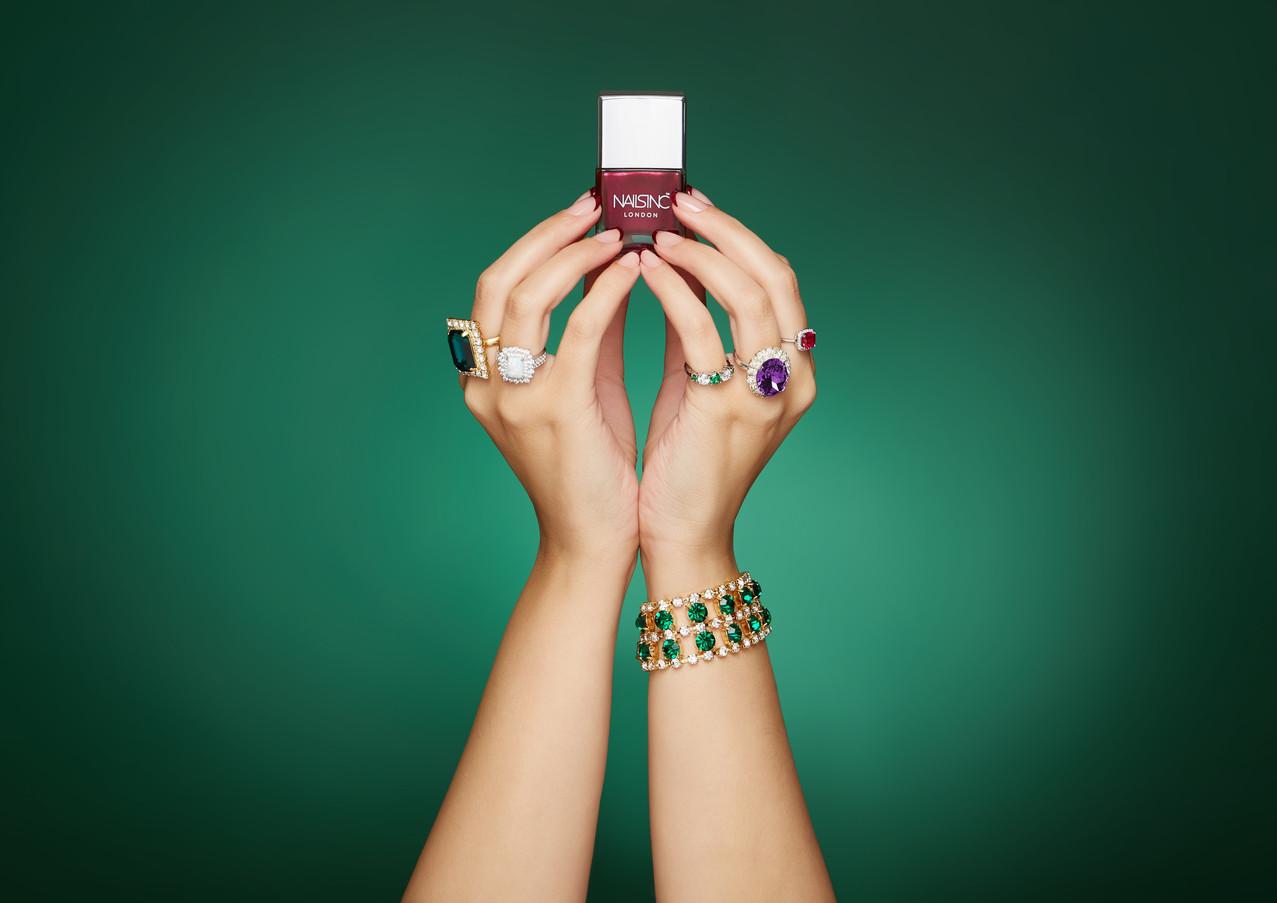 Nails INC 'QVC TSV' Marketing Creative S/S '18 (Austeja Sciavinskaite photography)
