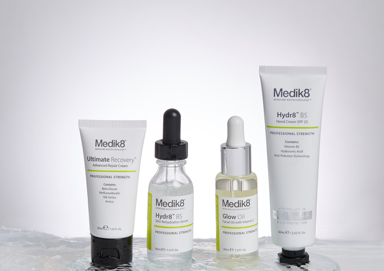 Medik8 A/W '17 Marketing Creative (Orion Zuyderhoff-Gray photography)