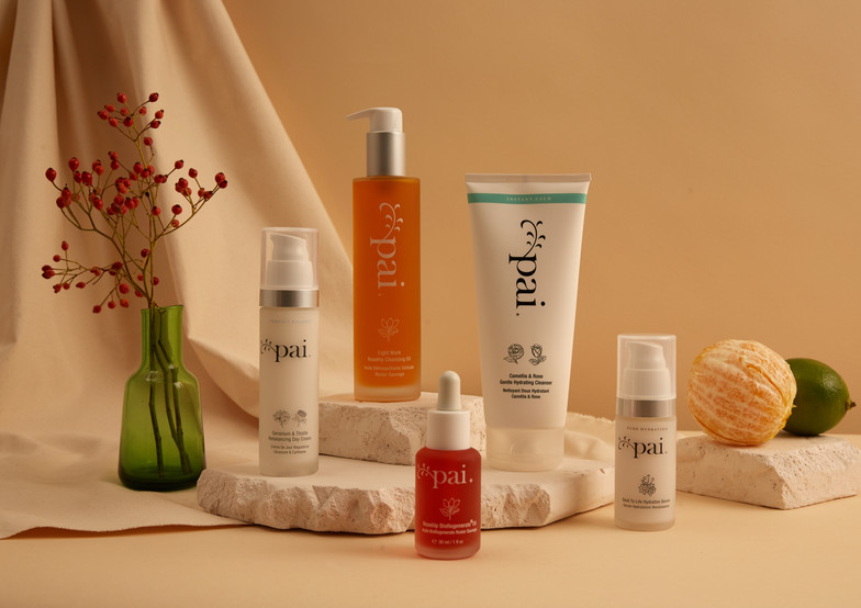 Pai Skincare Product Creative A/W '19 (Sean Wakefield photography)
