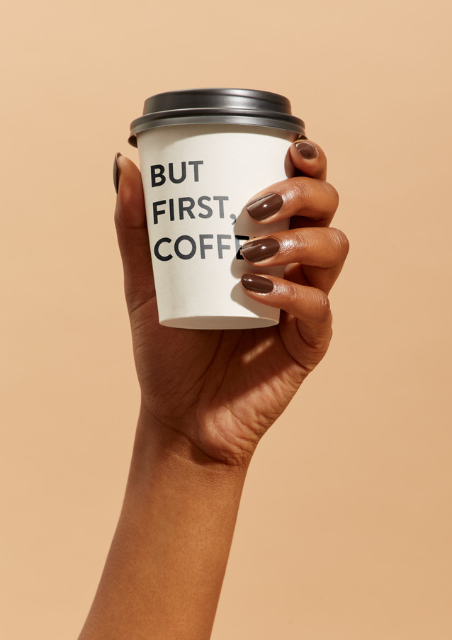Nails INC A/W '18 Marketing Creative 'Caffeine Hit' (Austeja Sciavinskaite photography)