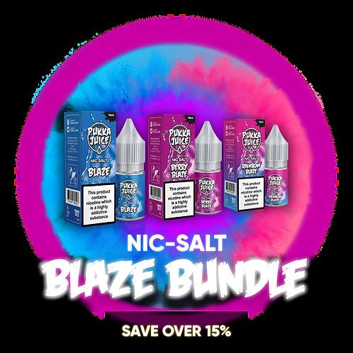 Blaze Bundle: Nic-Salt Range