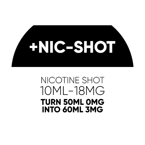 Nicotine Shot for shortfills