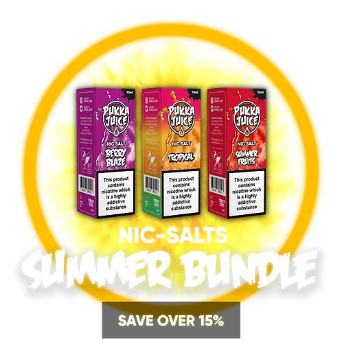 Nic-Salts Summer Bundle