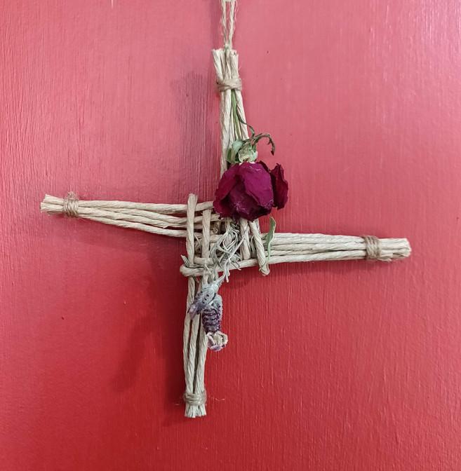 Handmade Saint Brigid's Cross