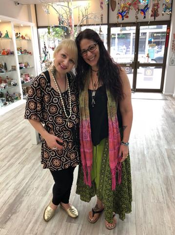 Effie With Melissa At Worldly Treasures In Orange NSW