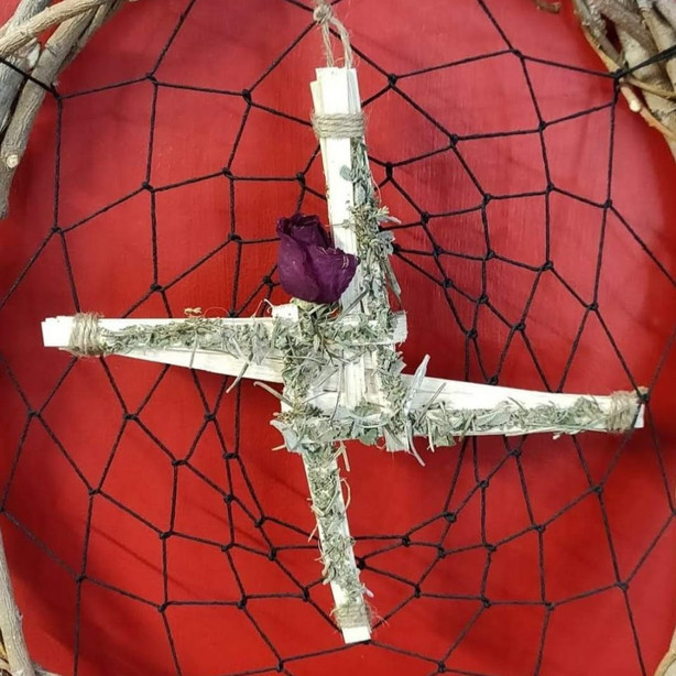 Handmade Saint Brigid's Cross