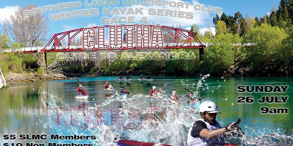 Winter Kayak Series - Clutha