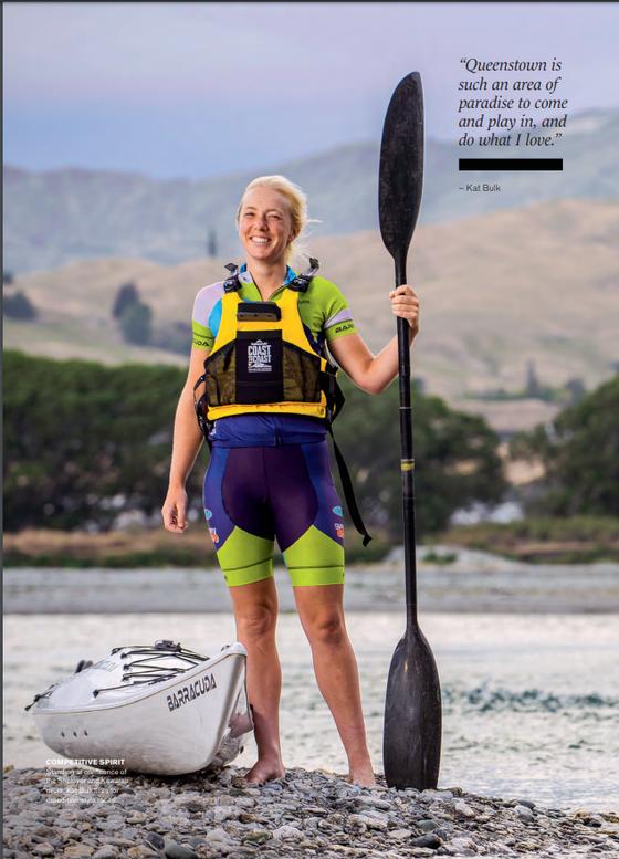Kat Bulk - Barracuda Kayaks Athlete - Mindfood Magazine