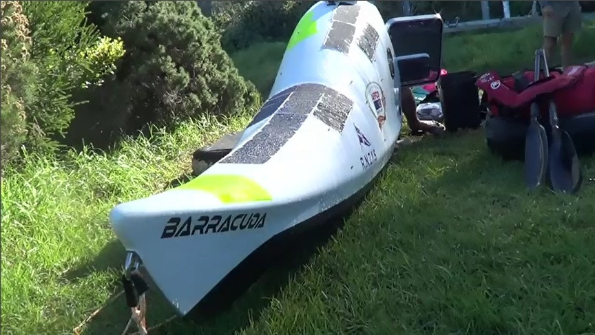 Custom Built Ocean Kayak - Barracuda Kayaks