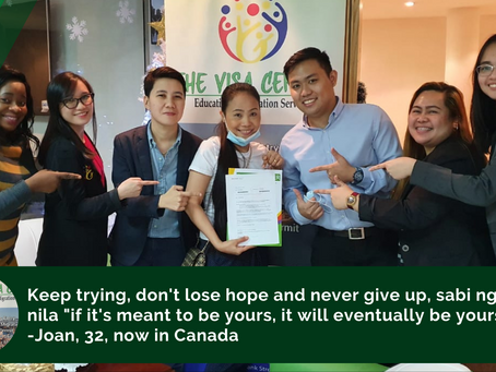 32-year old cashier from Isabela, now in Canada
