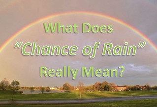 """** LESSON: What do """"chance"""", """"likely"""" or """"developing"""" mean? **"""