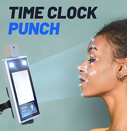 econenct and eclear's touchless time clcok and time punch solution