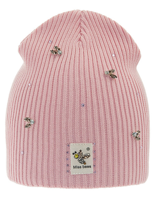 Pink Miss Bees Girls Hat