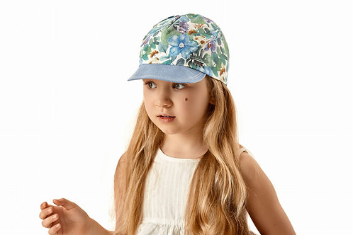 Cotton Summer Cap for Girls