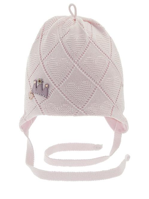 Lt. Pink Princess Girls Hat