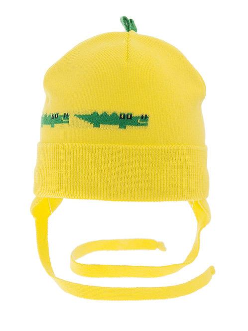 Yellow Alligator Boys Hat