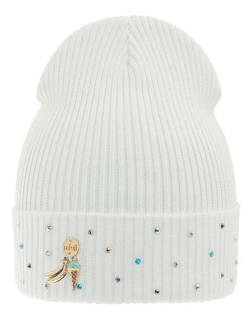 Vanilla Ice Cream Girls Hat