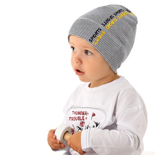 Stripe Boys Hat