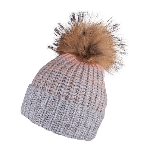 Knitted Beige Hat